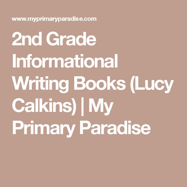 lucy calkins writing second grade Click on a grade level below to expand the accordian table and see links to specific units of study.