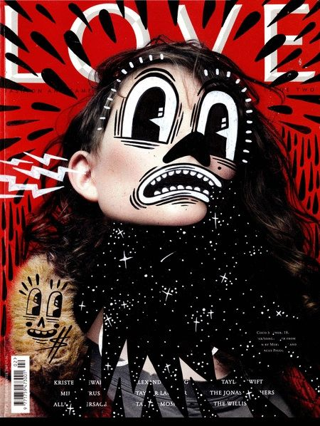 London-based Illustrator Hattie Stewart Uses Magazine