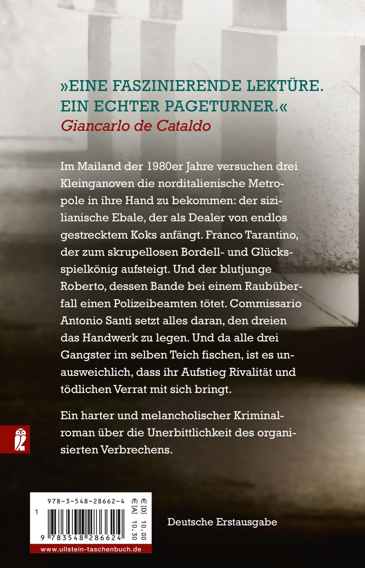L'edizione tedesca di Solo il tempo di morire pubblicata da Ullstein. Kriminalroman