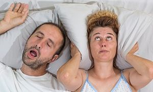 How can I stop someone snoring?