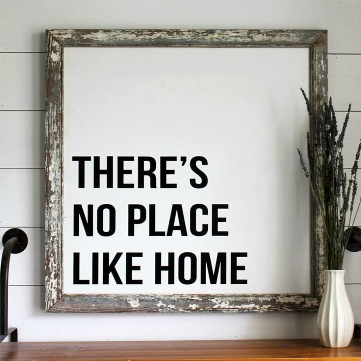 Signs Home Decor