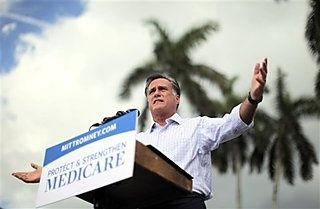 #53 9/20/12 Republican presidential candidate and former Massachusetts Gov. Mitt Romney campaigns at the Ringling Museum of Art in Sarasota, Fla., Thursday, Sept. 20, 2012. (AP Photo/Charles Dharapak) Close