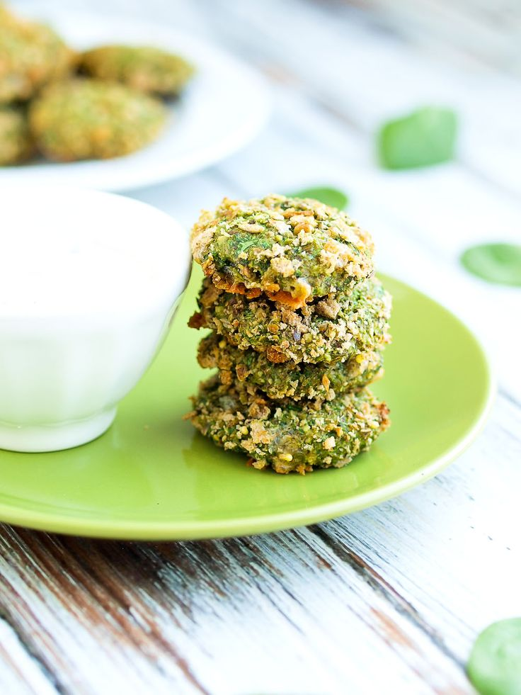 Look Again:  Spinach Nuggets