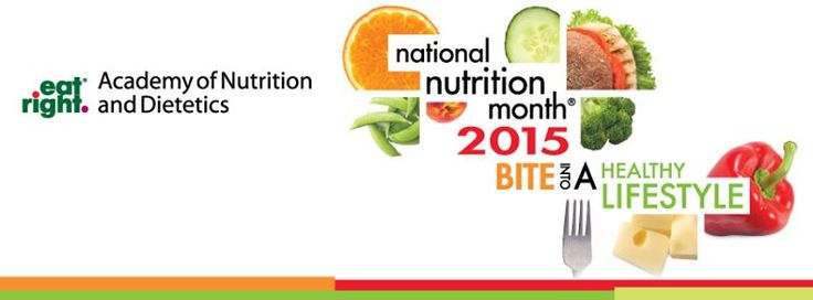 National Nutrition Month is a nutrition education and information campaign created annually in March by the Academy of Nutrition and Dietetics. #nutrition #March #nationalnutritionmonth