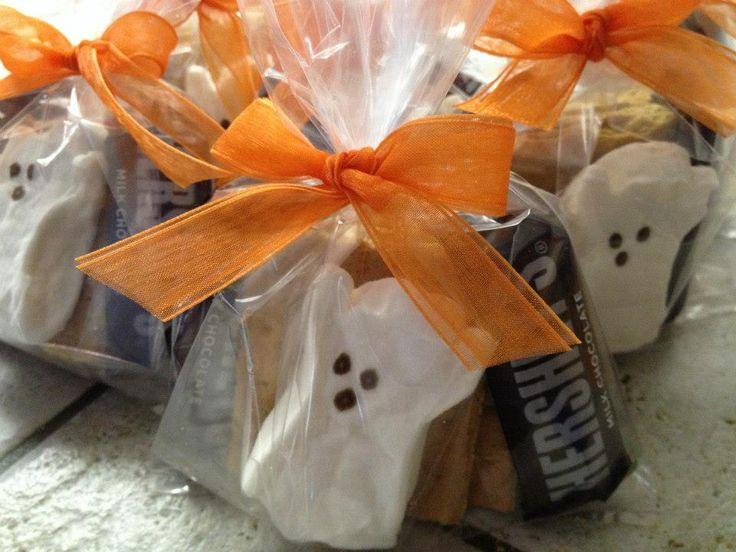 S'mores Halloween treat bags