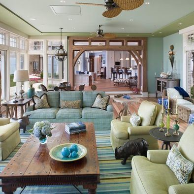 17 best ideas about blue green rooms on pinterest blue - Green and blue living room pictures ...