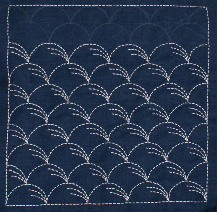 les 631 meilleures images du tableau sashiko sur pinterest art du textile boro et broderie. Black Bedroom Furniture Sets. Home Design Ideas