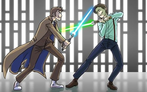 $20 they break something.<<< $30. <<< $50 <<< There's no point in raising the bet any further--we all know that it's all fun and games until somebody crash lands on their sonic screwdriver.