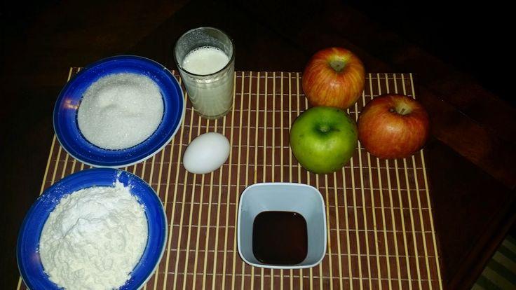Aprendiendo con Jedita.: Manzanas Fritas....