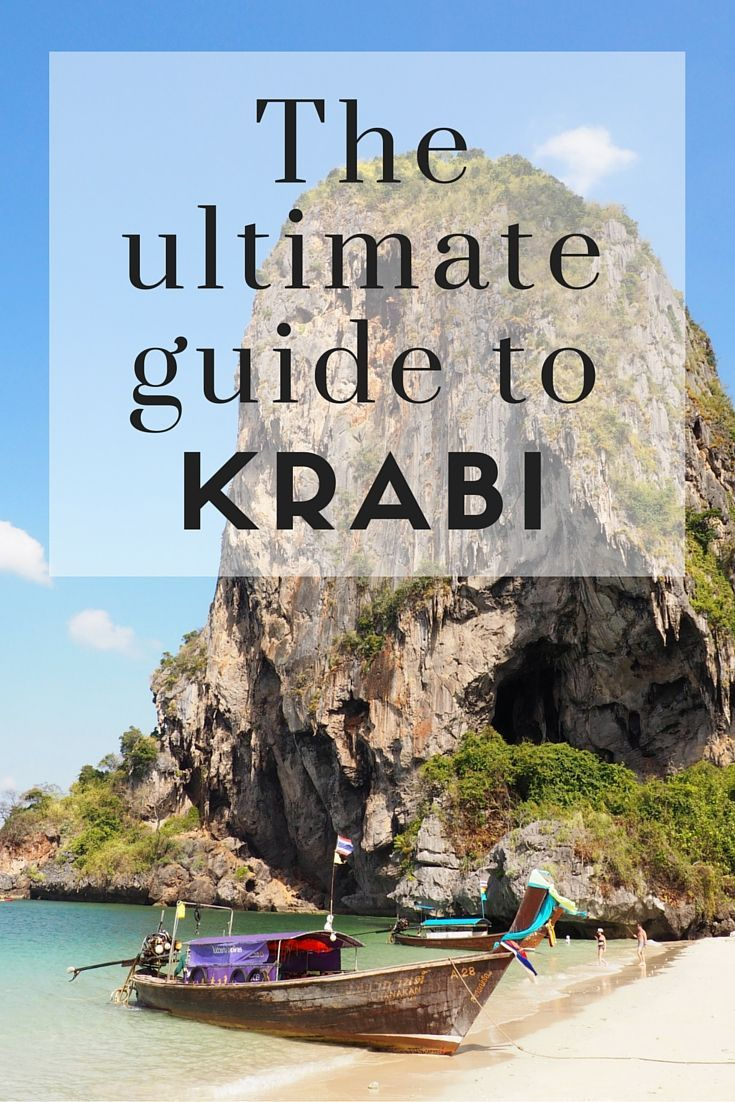 The Ultimate Guide to Krabi! Everything you need to know about Krabi, Thailand! www.girlxdeparture.com
