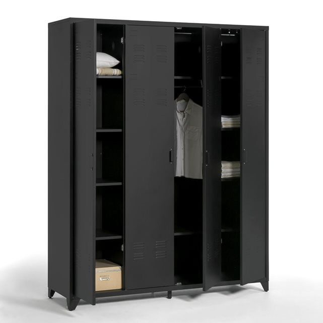 les 25 meilleures id es de la cat gorie armoire 4 portes. Black Bedroom Furniture Sets. Home Design Ideas