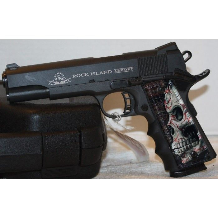 Rock Island Armory M1911-A1 FS Tactical 45ACP Semi Auto Pistol