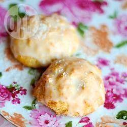 Makaroniki kokosowe z cytrynowym lukrem @ allrecipes.pl