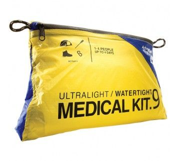 I love this water tight ultra light first aid kit for my 72 hr kit and backpacking gear.