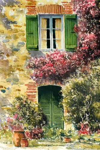 'Pyrennees Shutters' by Eric Thompson