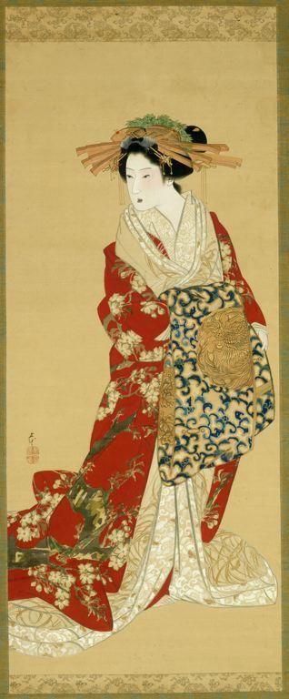 UKIYO - E.....1830.......BY MIHATA JORYU.....PARTAGE OF UKIYO - E.....ON FACEBOOK.............