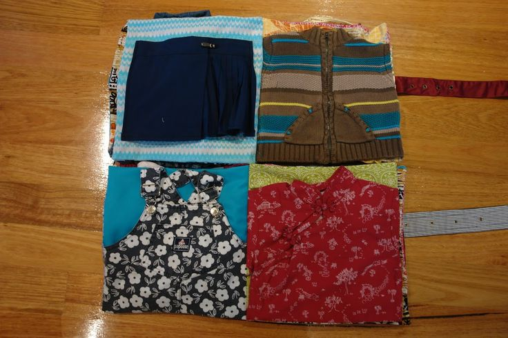 Faith and Felt Obsession: Up-cycled Clothes Quiet Book