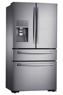 Samsung RF24HSESBSR, Réfrigérateur double porte à froid ventilé 333 L, Congélateur à froid ventilé (sans givre) 123 L, Volume total 495 L - Dimensions HxLxP : 177,7x90,8x72,6 cm, Distributeur eau, eau pétillante, glaçons et glace pilée