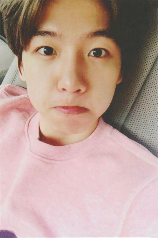 #Baekhyun #EXOK #EXO #selca #cute