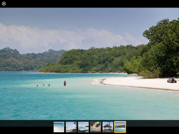 Nunung presents not only recipes but exclusive photos of special places. Here you can see a lonesome beach in Ujung Kulon national park, Java.