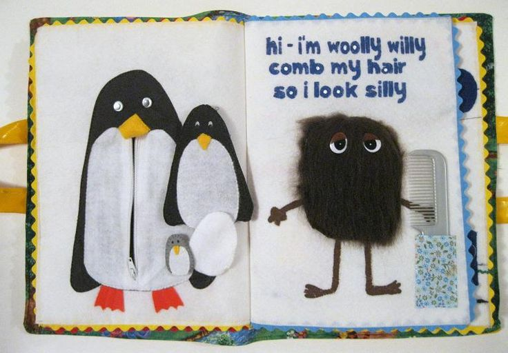 Felt Quiet Book #1 - Peek-a-Boo Pages - Sew Something Special