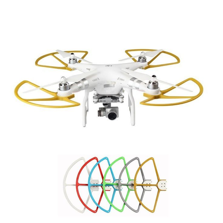 4pcs/Lot Propeller Guard For DJI Phantom 3 Professional & Advanced Upgrade Accessories Phantom 2 Drone Spare Parts #Affiliate