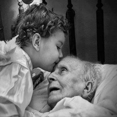 Children brought up with respect and compassion for the infirmed and aged are a blessing!