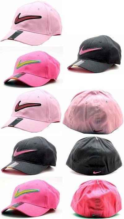 c167a1a5d53 Hats 15630  Nike Girl S Embroidered Nike Swoosh Logo Baseball Cap Sz 4 6X -