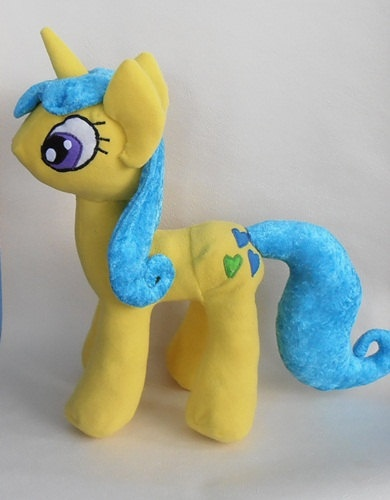 My Little Pony Lemon Hearts plush by margeritka on Etsy, $130.00
