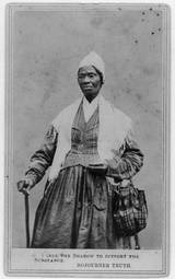 Sojourner Truth - Even though she never learned to read or write she became an advocate for the abolitionist movement and for women's rights.
