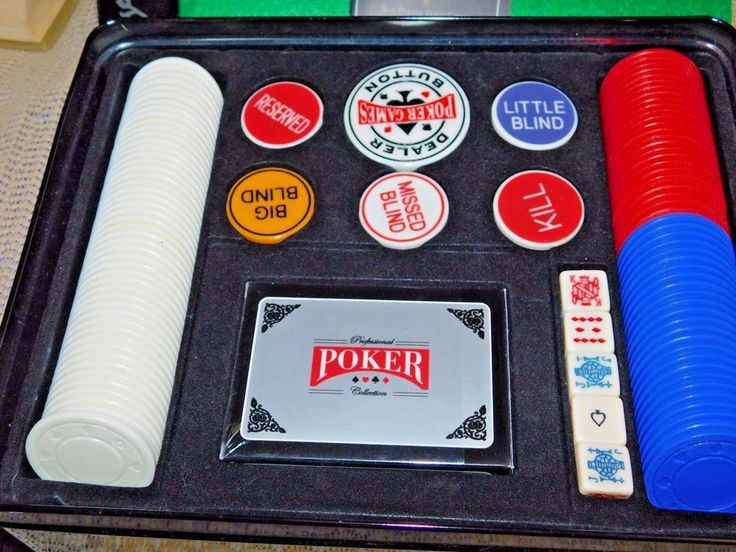 Professional Poker Games  Collection Texas Hold' Em Poker Set Complete