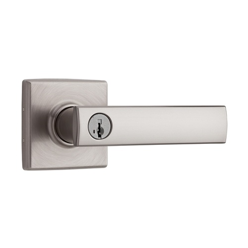 Modern door handles for locking doors