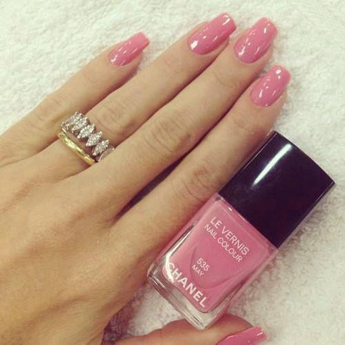 Nail Polish Ka Design Dikhaye: 25+ Best Ideas About Pink Nails On Pinterest
