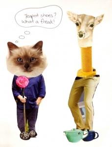 Funny collage fun for the kids. www.twiggynest.wordpress.com