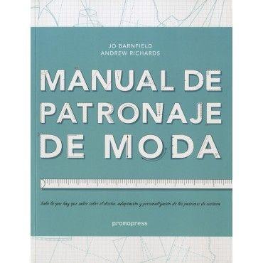 Caratula de Manual De Patronaje De Moda