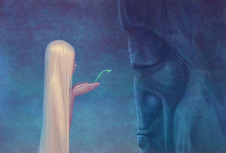 The Little Mermaid by Galya Zinko