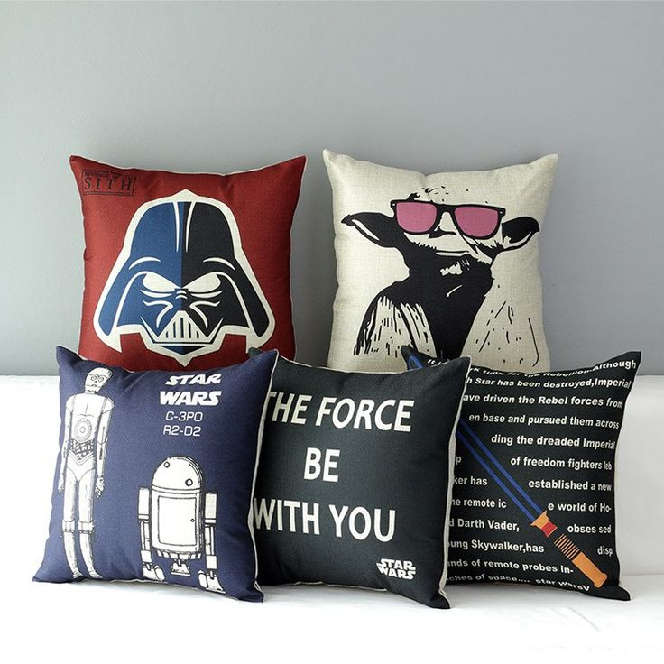 Star Wars Pillow Cover //Price: $14.95 & FREE Shipping //
