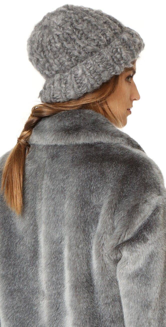 Eugenia Kim Shannon Cashmere Hat | SHOPBOP SAVE UP TO 25% Use Code: GOBIG17