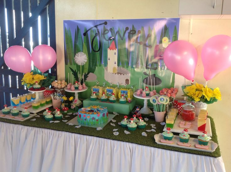Ben and Holly party.