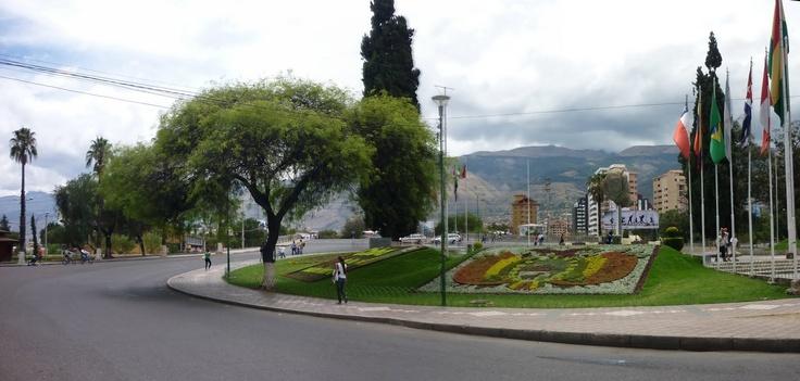 Plaza de las Banderas - Cochabamba, Bolivia