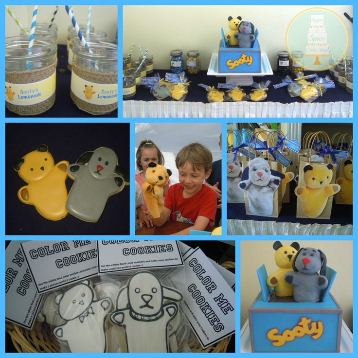 Ideas for a Sooty and Sweep Birthday Party