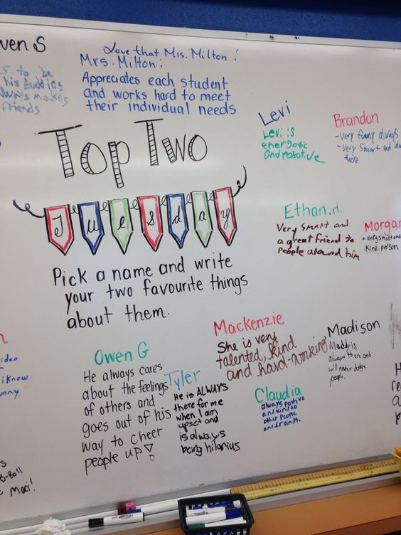This is amazing! Love the Top Two Tuesday idea with promoting and recognizing students (also perfect for faculty and staff). AND, having a list to choose from will ensure that more than just the popular kids will get recognized! LOVE THIS!