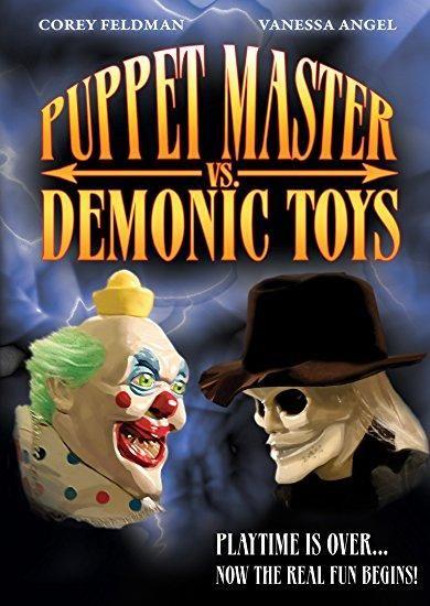 Corey Feldman & Vanessa Angel & Ted Nicolaou-Puppet Master vs Demonic Toys