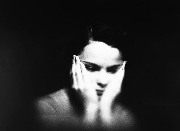 Saul Leiter. Jean Pearson c.1948