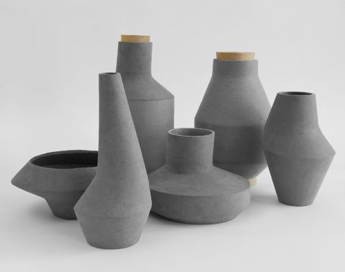 ett la benn   kami collection (not ceramics, but biodegradable cellulose)