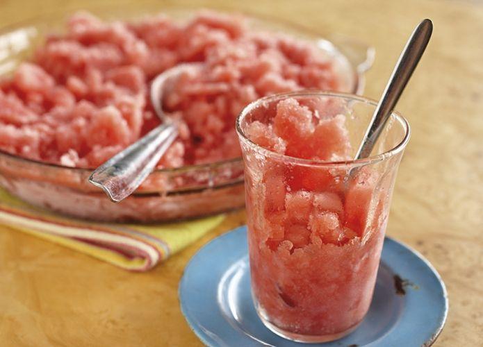 Speedy Watermelon Granita