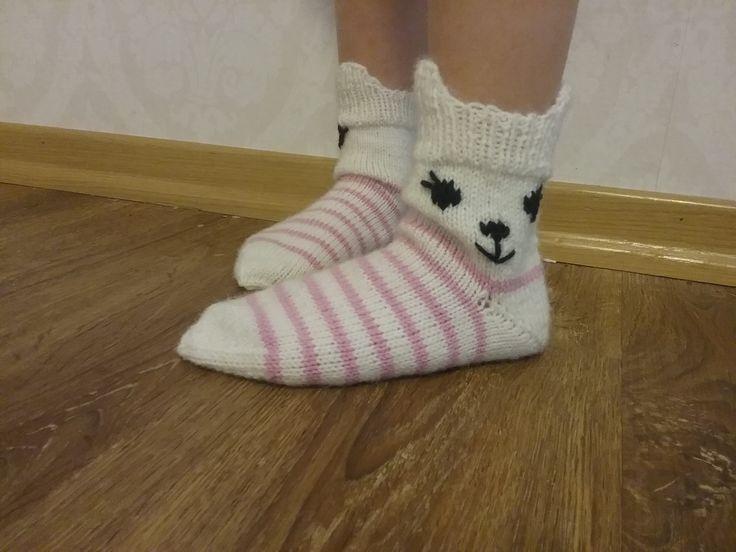 Kis kis sukat, malli Novitan sukkalehdestä.