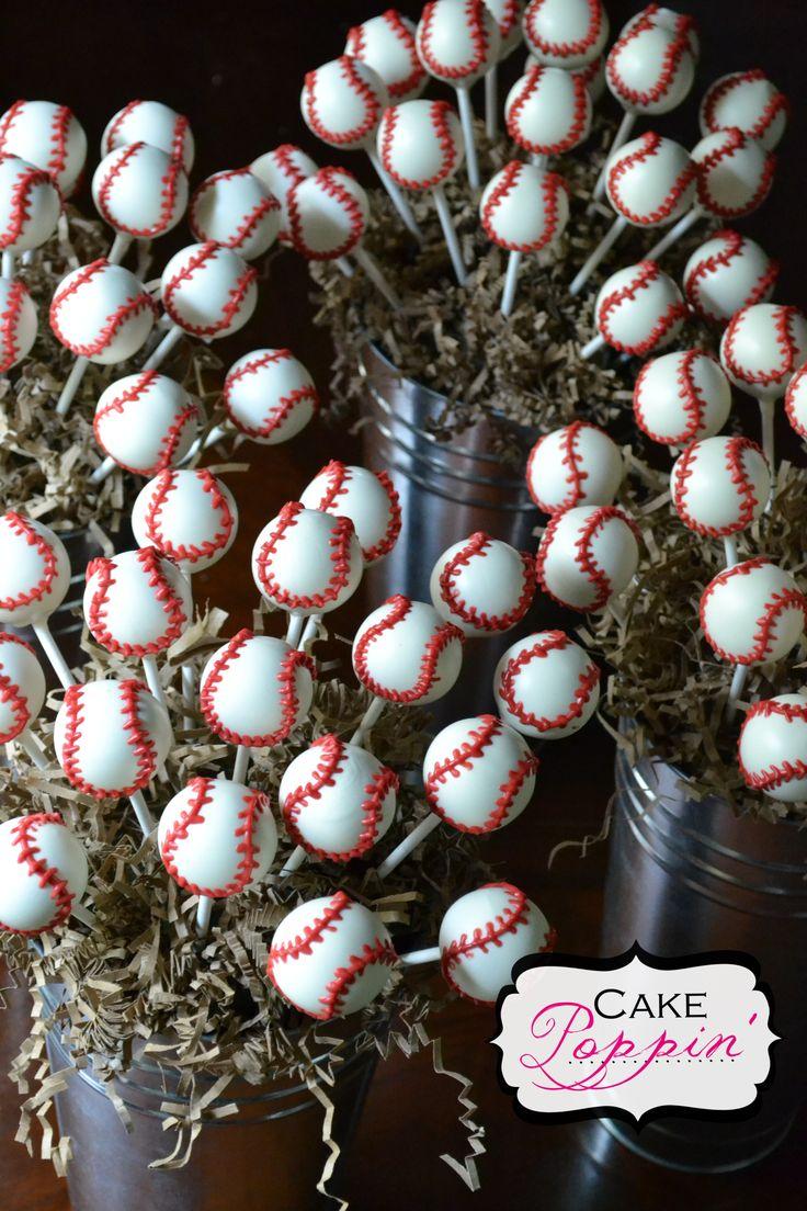 Baseball cake pops                                                                                                                                                                                 More