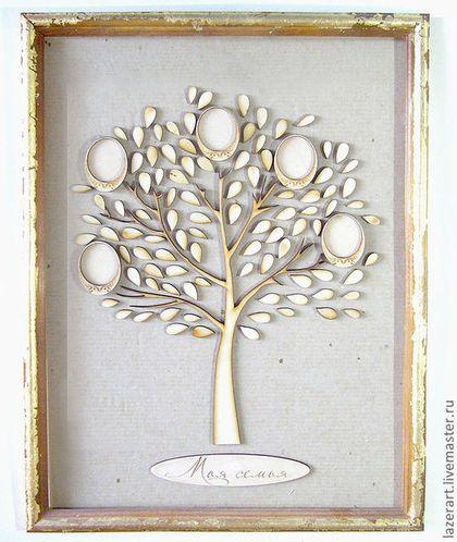 """Символизм ручной работы. Ярмарка Мастеров - ручная работа. Купить Панно """"Семейное дерево"""". Handmade. Подарок семейной паре, дерево"""