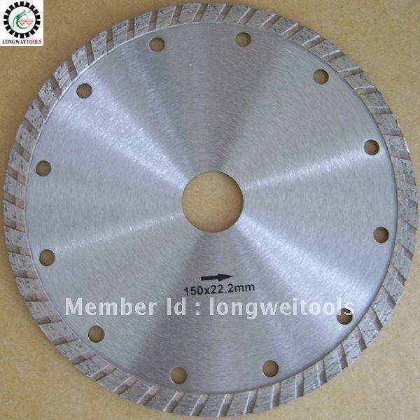 "150mm cold press turbo 6""diamond saw blade diamond blade angle grinder table saw power tool accessories for granite,marble,beton"